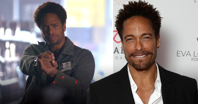 CSI's Gary Dourdan shows up in London for charity and still looks exactly like Warrick Brown
