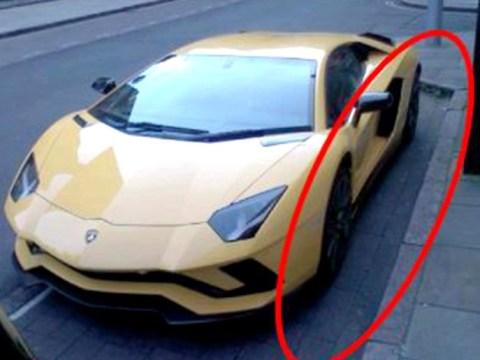 Lambourghini owner fined because car doesn't fit in parking bay