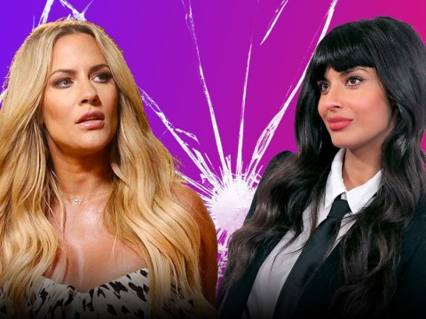 Caroline Flack clashes with Jameela Jamil after controversial series The Surjury is compared to Black Mirror