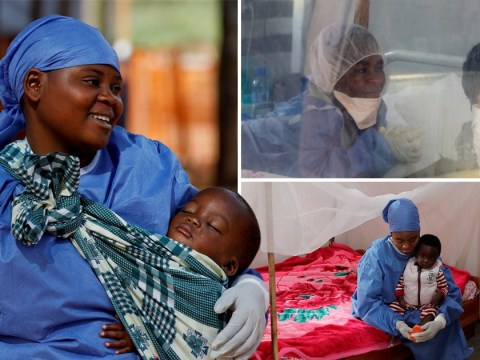 Women who survived Ebola are now caring for children with the disease