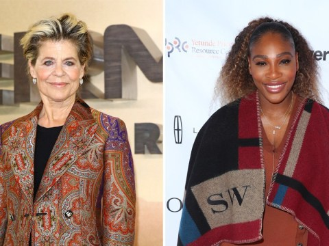Terminator's Linda Hamilton reveals she only got Serena Williams' trainer because she was pregnant