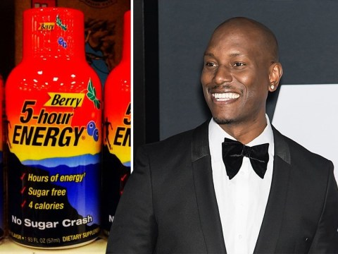Tyrese Gibson needed caffeine so bad that he flew shipped out energy drinks from America to London while filming Fast and Furious