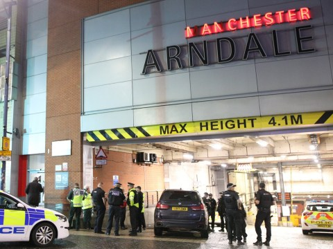Armed police called to 'man with knife' at Manchester shopping centre