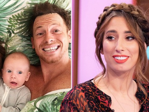 Stacey Solomon says Rex's birth brought up the trauma of Joe Swash's father's death