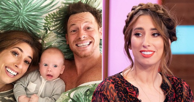 Stacey Solomon, Joe Swash, Rex