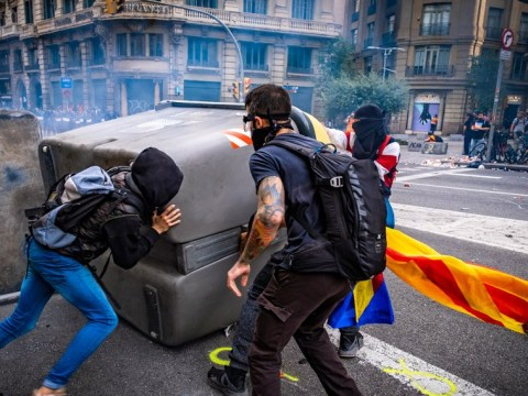 Barcelona mayor appeals for calm after city's worst night of rioting