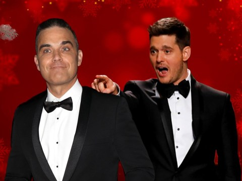 Robbie Williams wants to put a stop to Michael Buble owning Christmas: 'It must end now'