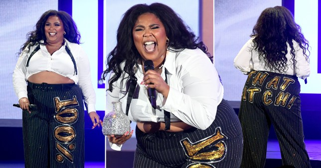 Lizzo is '100%' our style icon as she performs in Bond-inspired outfit amid 'plagiarism' battle