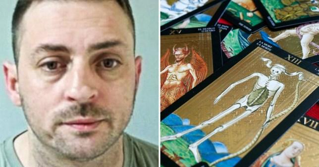 Ben Johnston and tarot cards