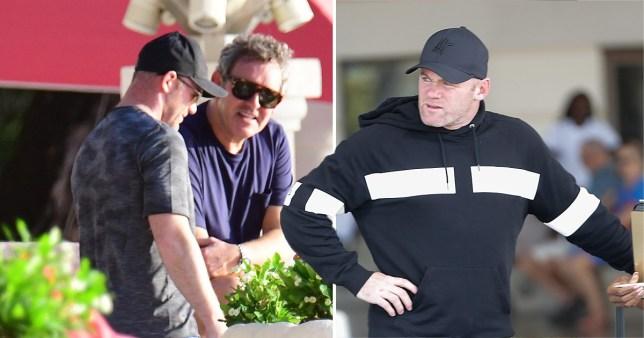 Wayne Rooney in Barbados