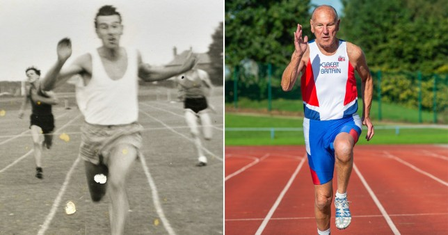 Grandad becomes fastest 84-year-old in the world – after recovering from two heart attacks