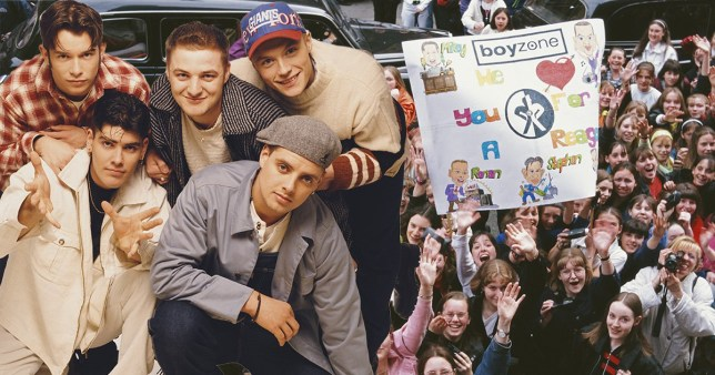 Boyzone reveal craziest story about fan who fell off the back of their moving car and we hope she lived to tell the tale