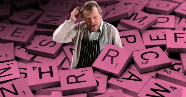 Roy is addicted to Scrabblein Coronation Street