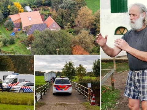First pictures of dad behind 'cult' family locked in Dutch farmhouse for nine years