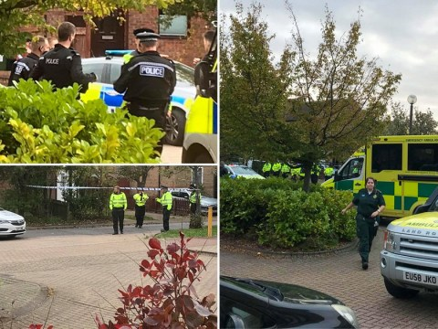 Armed police surround Milton Keynes house following reports of man with firearm