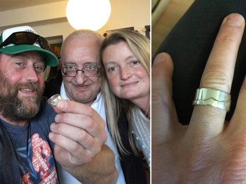 Man who lost his wedding ring in the sea reunited with it thanks to a fish