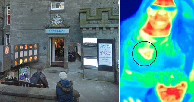 Bal Gill claims her breast cancer was only discovered after having her picture taken by the thermal camera (Picture: Google Maps/SWNS)