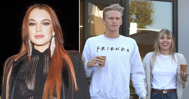 Lindsay Lohan brutally shades Cody Simpson for 'settling for less' with Miley Cyrus in deleted post