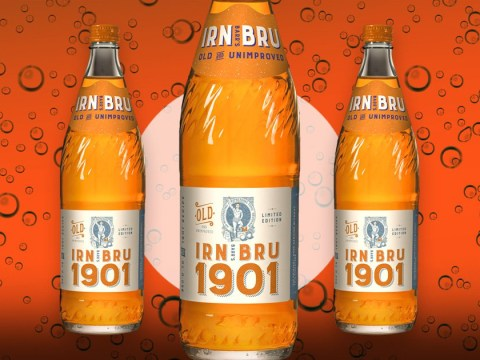 Irn Bru relaunches original 1901 recipe with extra sugar