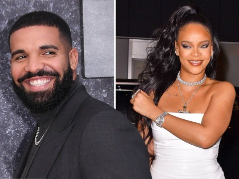 Drake 'looked excited' when Rihanna turned up to his 34th birthday party after she friend-zoned him