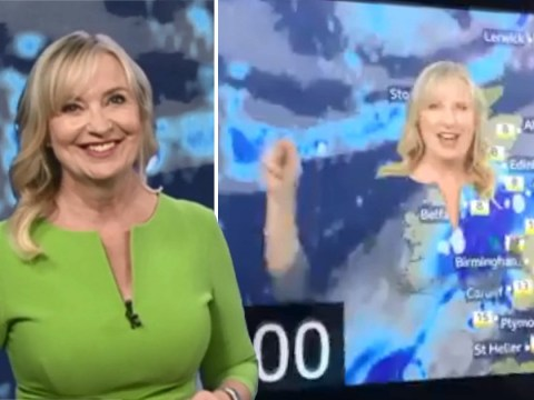 BBC Breakfast's Carol Kirkwood educates us all on why green as a weather presenter is a terrible idea