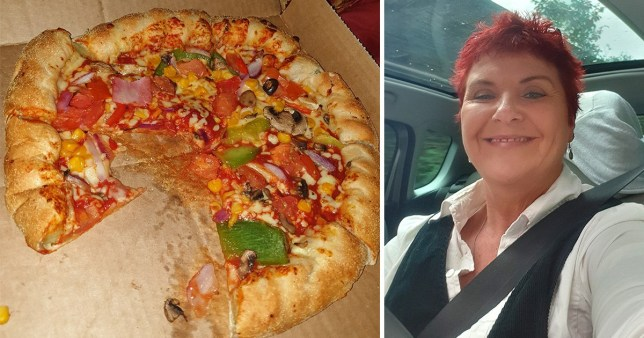 Woman found ham on her veggie Domino's after switching on the big light