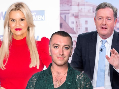 Kerry Katona defends Piers Morgan over Sam Smith gender debate: 'There's still a penis there'