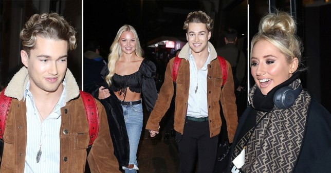 Strictly's AJ Pritchard, girlfriend Abbie Quinnen, and Saffron Barker