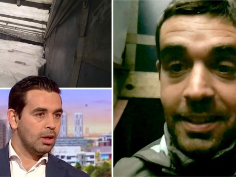 Syrian dad relives horrific journey to UK in back of freezing lorry
