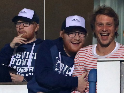 Ed Sheeran not good luck charm at football game as he watches Ipswich Town lose match