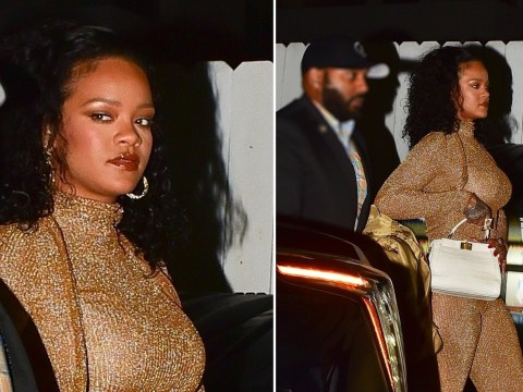 Rihanna is the queen of side-eye as she destroys paparazzi with one look on girls' night out