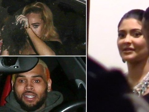 Adele, Chris Brown and Kylie Jenner party in to early hours for Drake's 34th birthday