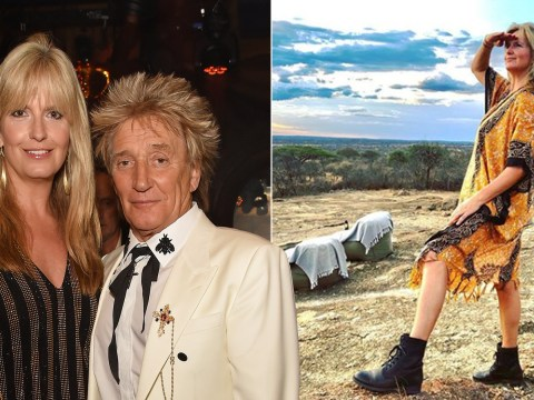Penny Lancaster and Rod Stewart are living their best lives on lavish Tanzania holiday