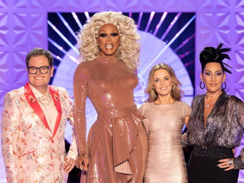 Geri Horner deemed 'dull' and 'awkward' on RuPaul's Drag Race by fans after Alan Carr shades her