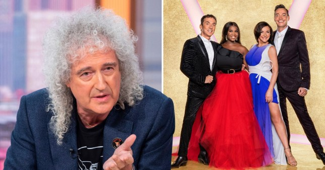 Brian May thinks Strictly judges would hate it if he signed up