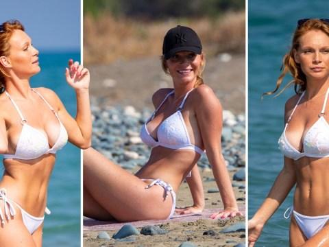 Summer Monteys-Fullam takes break from packed diary to enjoy the Cyprus sunshine
