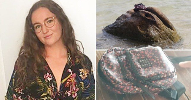Rucksack belonging to missing Brit Amelia was found on a rock, shortly after she disappeared.