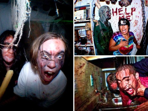 Haunted house so terrifying you must accept the possibility of death before entering