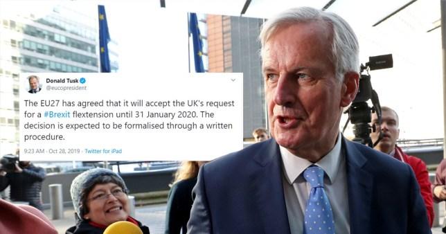 EU agree Brexit extension