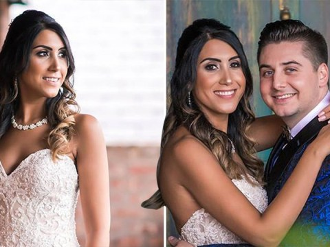 Newlywed buries wife in her wedding dress four months after their special day