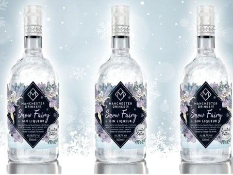 Home Bargains is selling a glittery snow fairy gin liqueur for Christmas