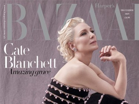Cate Blanchett to receive Philanthropy Award at the Harper's Bazaar Women Of The Year Awards 2019