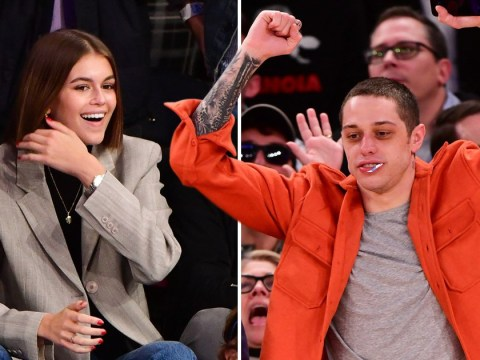 Rumoured couple Kaia Gerber and Pete Davidson both attend the same basketball game and we need to know what is happening