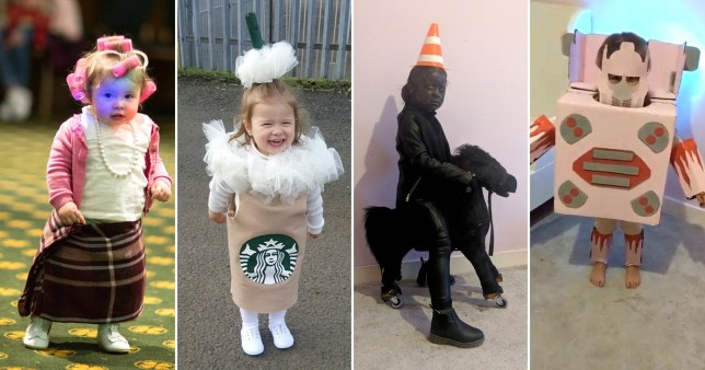 Mum Creates Amazing Homemade Halloween Costumes For Little