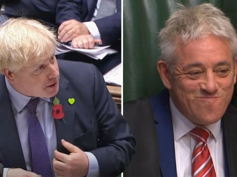 Boris Johnson pays comical tribute to John Bercow in speaker's last PMQs