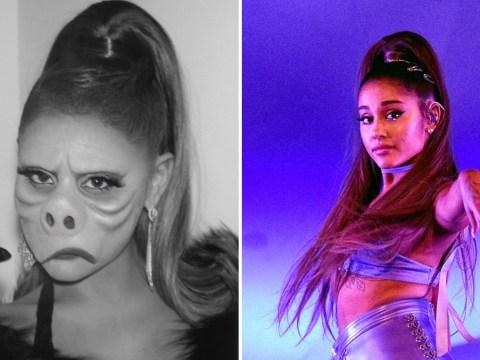Ariana Grande undergoes five hours of prosthetics for epic Twilight Zone Halloween costume