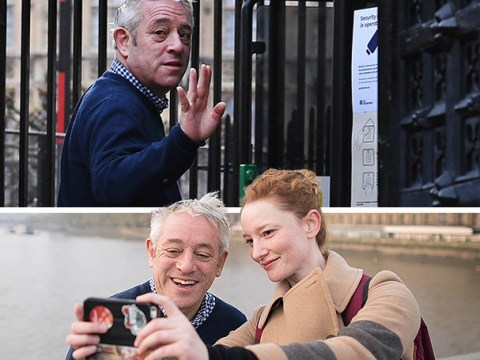 Unseen pictures revealed on John Bercow's last ever day as Commons Speaker
