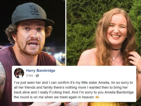 Brother of backpacker Amelia Bambridge confirms her death in heartbreaking message