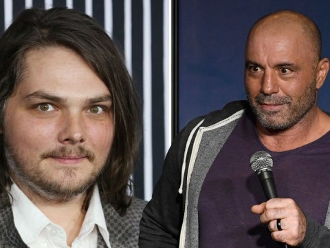Gerard Way and Joe Rogan are cousins but they've never actually met each other