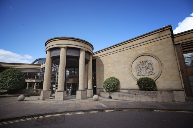 File photo dated 14/06/19 of the High Court, Glasgow. A man convicted of assaulting a toddler by putting her in a tumble dryer will be sentenced on Thursday.